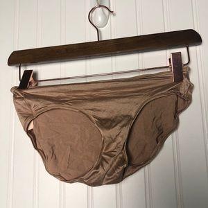 Victoria secret nude cheeky bikini underwear